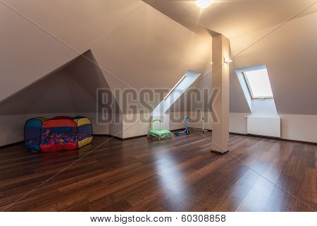 Ruby House - Attic With Toys