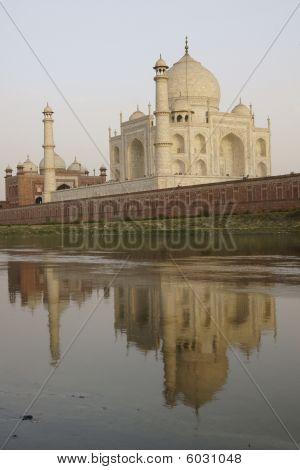 Reflection of the Taj Mahal