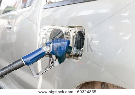 Car With Gas Refill