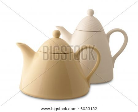 Two teaspots