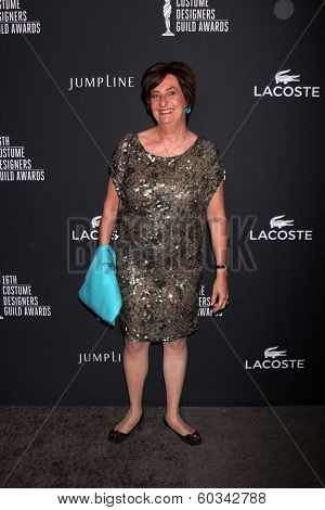 LOS ANGELES - FEB 22:  Beryl Hamilton Lacoste at the 16th Annual Costume Designer Guild Awards at Beverly Hilton Hotel on February 22, 2014 in Beverly Hills, CA