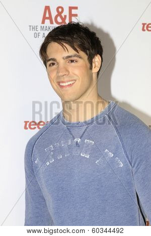 LOS ANGELES - FEB 22:  Steven R. McQueen at the Abercrombie & Fitch 'The Making of a Star' Spring Campaign Party  at Siren Studios on February 22, 2014 in Los Angeles, CA