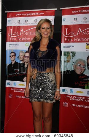 LOS ANGELES - FEB 23:  Lady Victoria Hervey at the LA Italia Opening Night at TCL Chinese 6 Theaters on February 23, 2014 in Los Angeles, CA