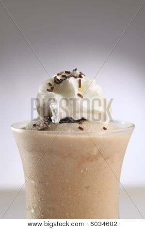 Frozen Frapuccino close