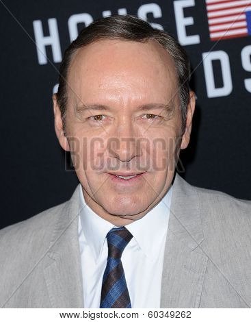 LOS ANGELES - FEB 13:  Kevin Spacey the