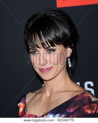 LOS ANGELES - FEB 13:  Constance Zimmer the