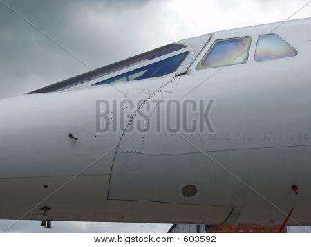 Concorde Cockpit External