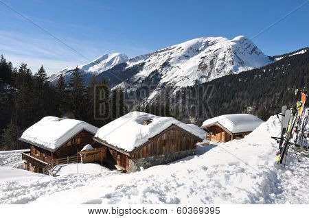 Savoie Village In Winter