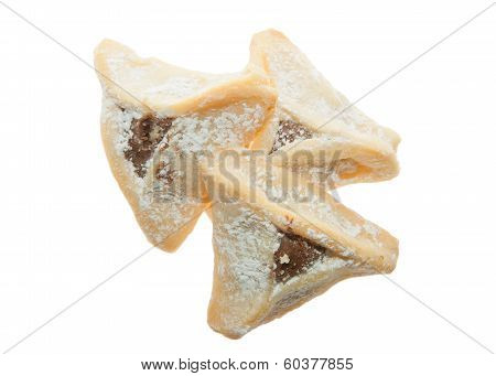Three Hamentashen