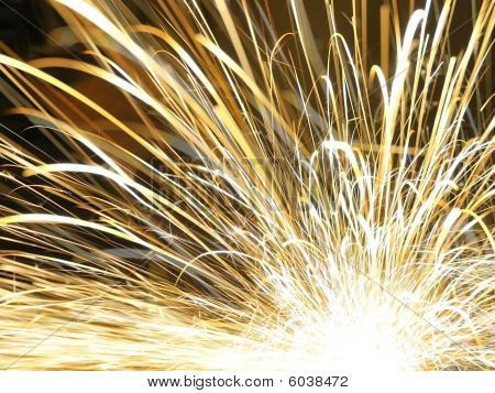 Abstract Sparks Background