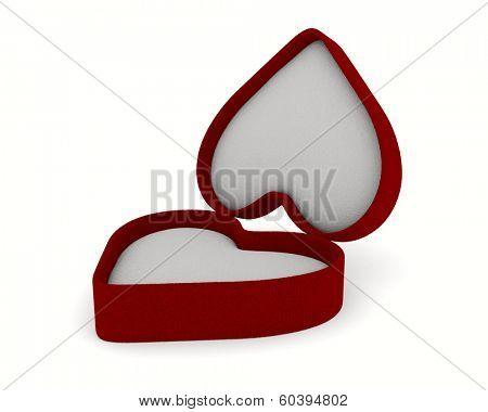 gift box on white background. Isolated 3D image