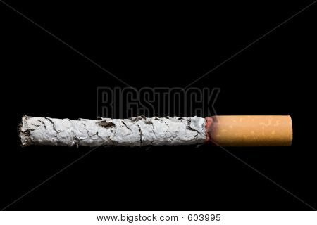 Cigarette Over Black