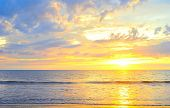pic of luzon  - Beautiful colorful sunset on Luzon island Philippines - JPG