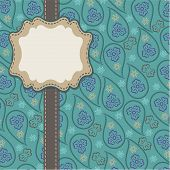 Mens  Paisley Design Template,artwork,background