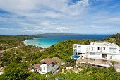 stock photo of boracay  - Beautiful tropical landscape - JPG