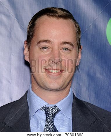 LOS ANGELES - JUL 17:  Sean Murray arrives to the CBS-CW-Showtime Summer TCA Press Tour 2014  on July7, 2014 in West Hollywood, CA.