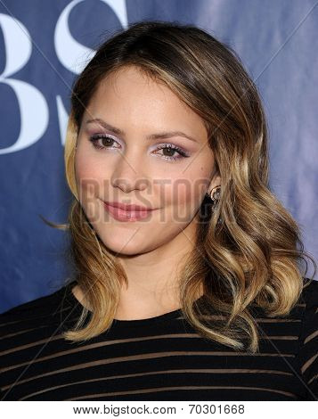 LOS ANGELES - JUL 17:  Katharine McPhee arrives to the CBS-CW-Showtime Summer TCA Press Tour 2014  on July7, 2014 in West Hollywood, CA.