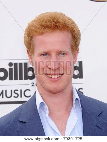 LAS VEGAS - MAY 18:  Matthew Hicks arrives to the Billboard Music Awards 2014  on May 18, 2014 in Las Vegas, NV.