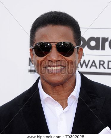 LAS VEGAS - MAY 18:  Jackie Jackson arrives to the Billboard Music Awards 2014  on May 18, 2014 in Las Vegas, NV.