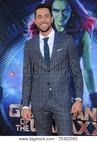 LOS ANGELES - JUL 21:  Zachary Levi arrives to the