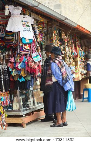 Pasaje Artesanal in Banos, Ecuador