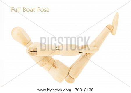 Yoga Full Boat Pose