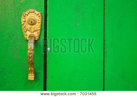 Spanish Colonial Style Door.
