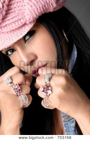 Fistful Of Bejewelled Rings