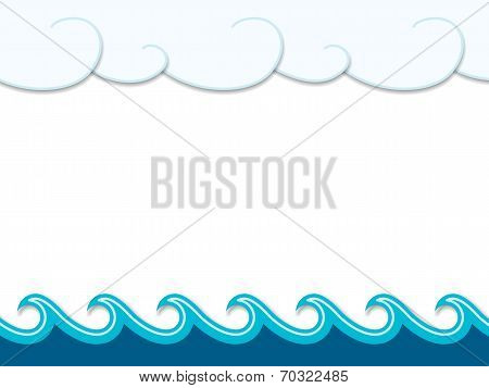 Nautical cartoon scenery