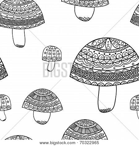 abstract mushrum pattern