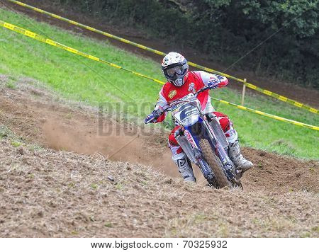 Motocross In Sariego, Asturias, Spain.