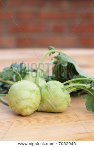 Cabbage Of Kohlrabi