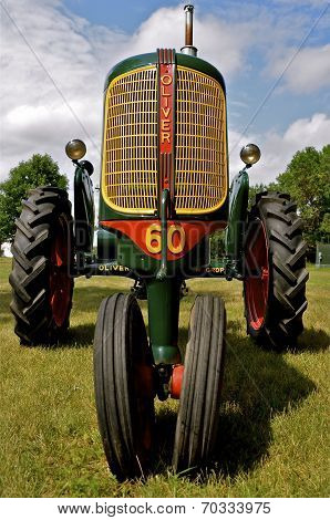 Refurbished Oliver 60 Row Crop Tractor