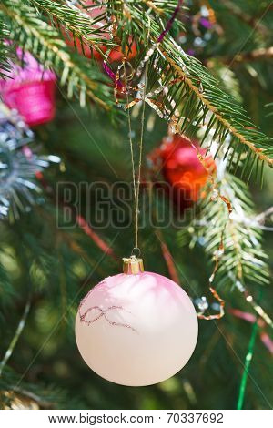 Glass Balls Christmas Decoration