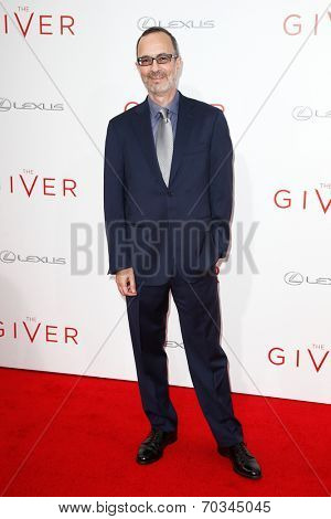NEW YORK-AUG 11: Screenwriter Robert B. Weide attends the premiere of