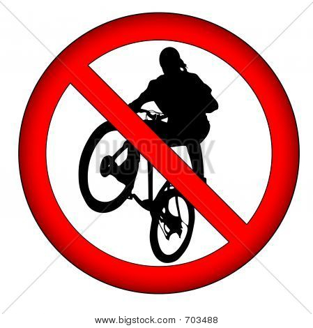 Sign: No Extreme Sports!