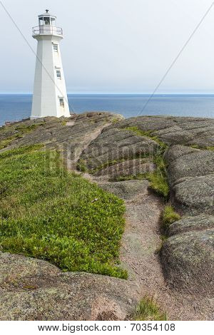 Cape Spear lighthouse, stone path
