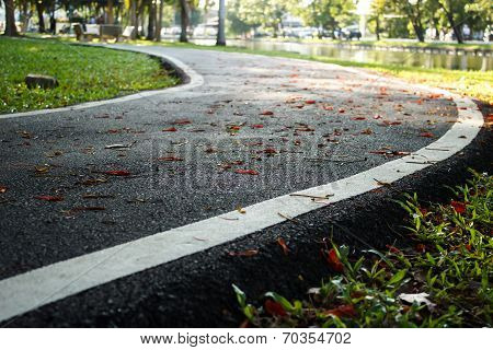 ?jogging Track In Health Park