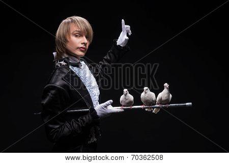 Consummate mastery of magician
