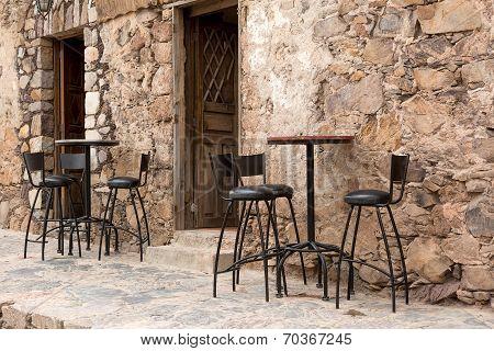 Street Restaurant Patio