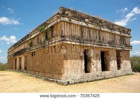 Ancient Mayan Stone Buildng