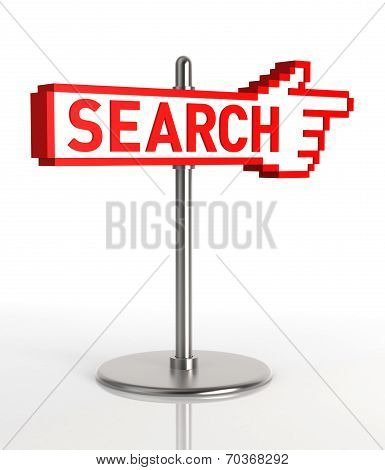 Search Sign