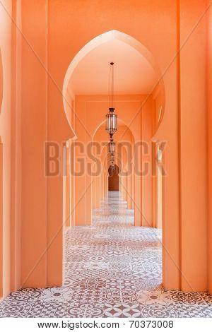 Walkway Moroccan Style Decor