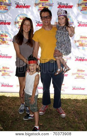 LOS ANGELES - AUG 16:  Johnny Knoxville at the Disney Junior's Pirate and Princess: Power of Doing Good at Avalon on August 16, 2014 in Los Angeles, CA