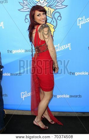LOS ANGELES - AUG 17:  Kristen Nedopak at the 2nd Annual Geeky Awards at Avalon on August 17, 2014 in Los Angeles, CA