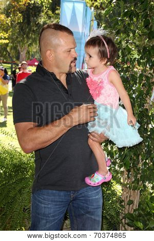 LOS ANGELES - AUG 16:  Chuck Liddell at the Disney Junior's Pirate and Princess: Power of Doing Good at Avalon on August 16, 2014 in Los Angeles, CA