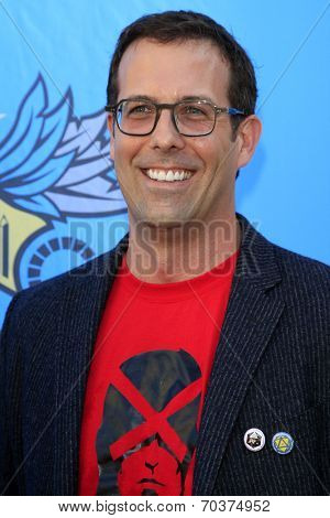 LOS ANGELES - AUG 17:  David Nett at the 2nd Annual Geeky Awards at Avalon on August 17, 2014 in Los Angeles, CA
