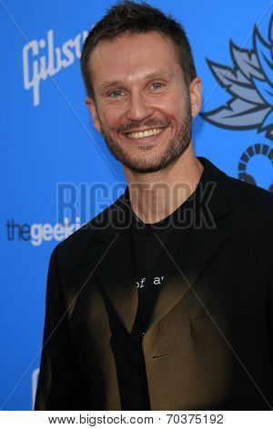 LOS ANGELES - AUG 17:  Brian Bielawski at the 2nd Annual Geeky Awards at Avalon on August 17, 2014 in Los Angeles, CA