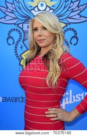LOS ANGELES - AUG 17:  Michelle Harris at the 2nd Annual Geeky Awards at Avalon on August 17, 2014 in Los Angeles, CA