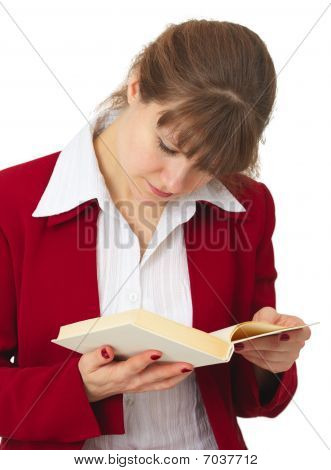Woman Acquainted With Contents Of Book